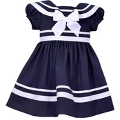 Bonnie Jean Infant Girls Traditional Nautical Dress and Panty Set