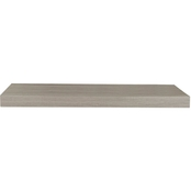 InPlace 24 In. Driftwood Floating Shelf