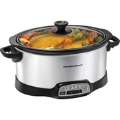 Hamilton Beach Programmable 7 Qt. Slow Cooker