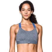 Under Armour High Heathered Armour Eclipse Sports Bra