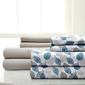 Pacific Coast Textiles Falling Leaves 8 Pc. Sheet Set