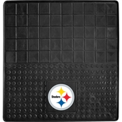Fan Mats NFL Pittsburgh Steelers 31 x 31 In. Vinyl Cargo Mat