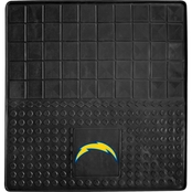 Fan Mats NFL Los Angeles Chargers 31 x 31 In. Vinyl Cargo Mat