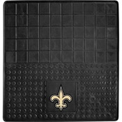 Fan Mats NFL New Orleans Saints 31 x 31 In. Vinyl Cargo Mat