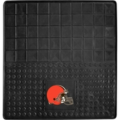 Fan Mats NFL Cleveland Browns 31 x 31 In. Vinyl Cargo Mat