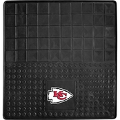 Fan Mats NFL Kansas City Chiefs 31 x 31 In. Vinyl Cargo Mat