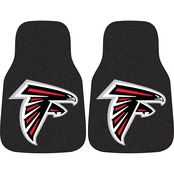 Fan Mats NFL Atlanta Falcons 2 Pc. Carpeted Car Mats