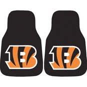 Fan Mats NFL Cincinnati Bengals Carpeted Car Mat