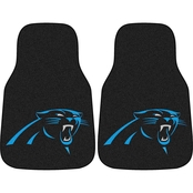 Fan Mats NFL Carolina Panthers Carpeted Car Mat