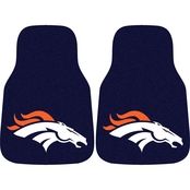 Fan Mats NFL Denver Broncos Carpeted Car Mat