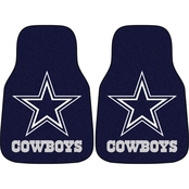 Fan Mats NFL Dallas Cowboys Carpeted Car Mat