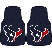 Fan Mats NFL Houston Texans Carpeted Car Mat