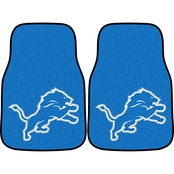 Fan Mats NFL Detroit Lions Carpeted Car Mat