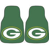 Fan Mats NFL Green Bay Packers Carpeted Car Mat