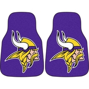 Fan Mats NFL Minnesota Vikings Carpeted Car Mat