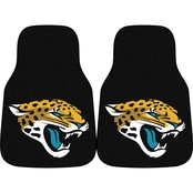 Fan Mats NFL Jacksonville Jaguars Carpeted Car Mat