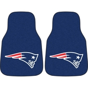 Fan Mats NFL New England Patriots Carpeted Car Mat