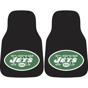 Fan Mats NFL New York Jets Carpeted Car Mat
