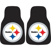 Fan Mats NFL Pittsburgh Steelers Carpeted Car Mat
