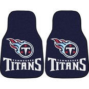 Fan Mats NFL Tennessee Titans Carpeted Car Mat