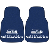 Fan Mats NFL Seattle Seahawks Carpeted Car Mat