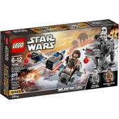 LEGO Star Wars Ski Speeder vs. First Order Walker Microfighters
