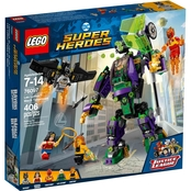 LEGO DC Super Heroes Lex Luthor Mech Takedown