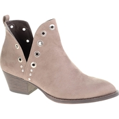 CL By Laundry Catt Split V Eyelet Booties