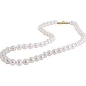 Blue Lagoon by Mikimoto 14K Yellow Gold 7mm Pearl 18 in. Strand Necklace