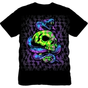 Boys Snake and Skull Graphic Tee