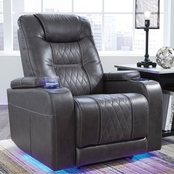 Ashley Composer Power Recliner with Power Headrest