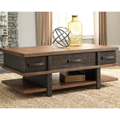 Ashley Stanah Lift Top Cocktail Table