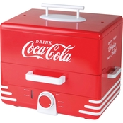 Nostalgia Electrics Coca-Cola Hot Dog Steamer
