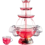Nostalgia Electrics Vintage Collection Lighted Party Fountain