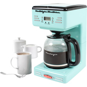 Nostalgia Electrics Retro Series 12 Cup Programmable Coffee Maker