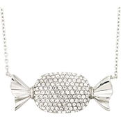 Simone I. Smith Clear Crystal Candy Necklace 18 in.