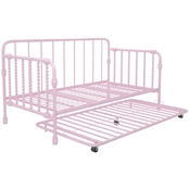 Little Seeds Monarch Hill Wren Metal Daybed with Trundle
