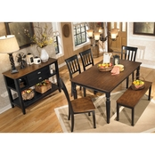 Signature Design by Ashley Owingsville 6 Pc. Dining Set