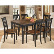 Signature Design by Ashley Owingsville 7 Pc. Dining Set