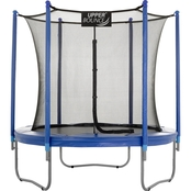 UpperBounce Trampoline and Enclosure Set with Easy Assemble Feature