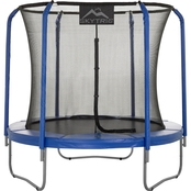 Skytric Round Trampoline with Top Ring Enclosure and Easy Assemble Feature