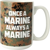 Mitchell Proffitt Once A Marine Always a Marine Ceramic Mug