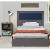 Ameriwood Home Skyler Twin Bed with Reversible Headboard