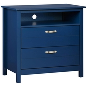 Ameriwood Home River Layne 2 Drawer Media Dresser