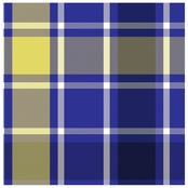Springs Creative Bruno Plaid Navy Fleece Fabric by the Yard
