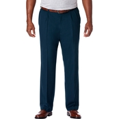 Haggar Big and Tall Cool 18 Pro Classic Fit Pleat Pants