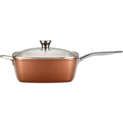 T-Fal Endura Copper Ceramic 10 in. Square Fry Pan