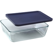 Pyrex 11-Cup Rectangular Glass Storage Dish with Lid