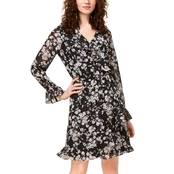 INC International Concepts Floral Wrap Dress