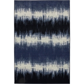 Mohawk Home Echo Navy Rug 60 x 96